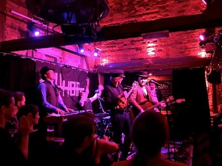 Violet Road`s singelslippkonsert på Uhørt, 13.11.2015