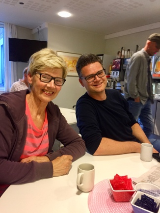 Mamma og Ole Henrik