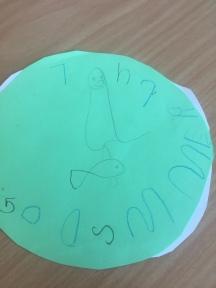 God jul og god sommer! -Alfred, 5 år